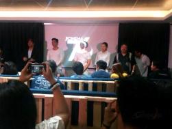 (L-R) John Arcilla, Mon Confiado, Epy Quizon, Bing Pimentel, E.A Rocha, Leo Martinez